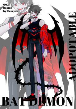 [CLOSED]ADOPTABLE Bat Demon