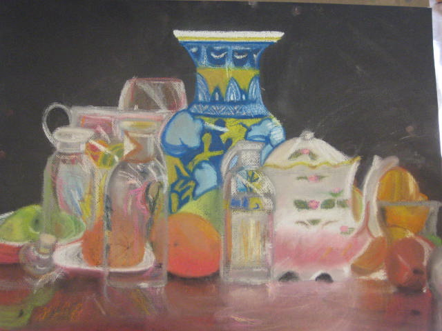 still life in pastel by PrincipessaSharadin
