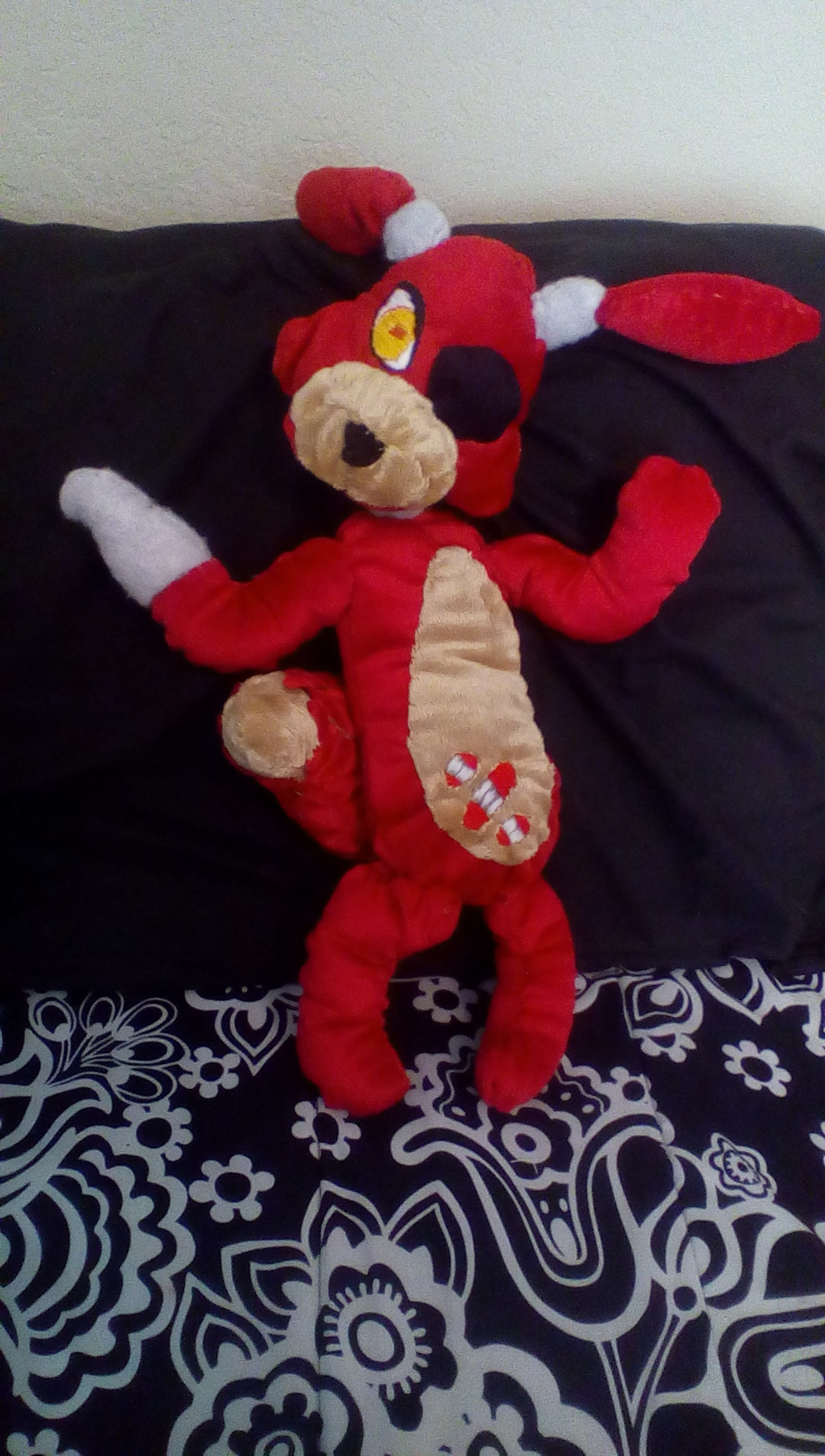 Five nights at freddy s foxy plushie by palleteclipse on deviantart