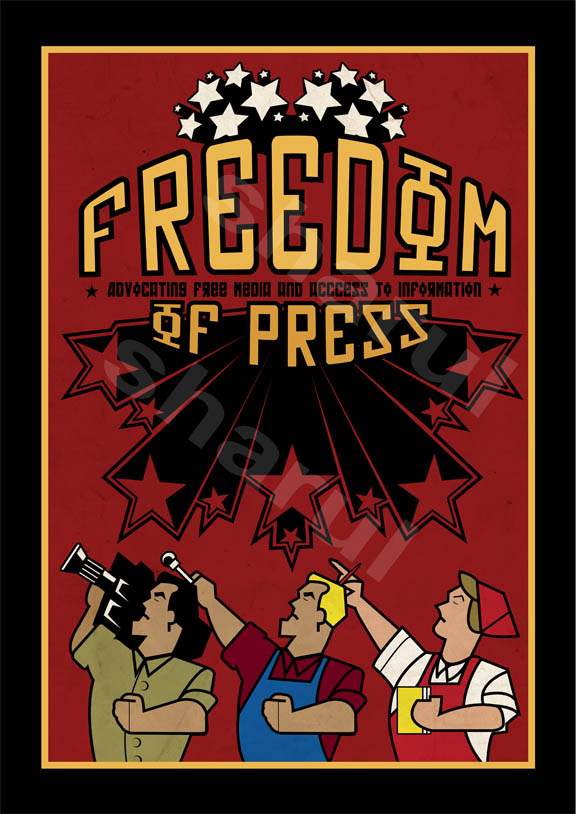 freedom of press by shanot