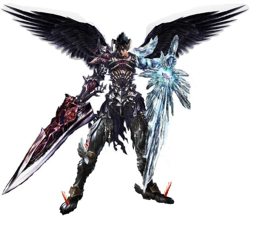 Devil Jin Fusion Soul Calibur by SananDarkLight on DeviantArt