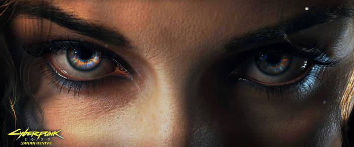 Cyberpunk 2077  (Eye Vision)