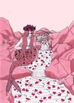 sad valentines mermaid by Kelpiekorn