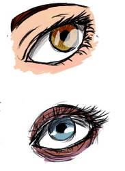 I've  Been Practising Eyes