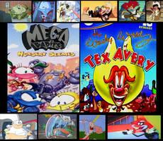 Request 2: Megababies vs Wacky World of Tex Avery by Abbinurmel