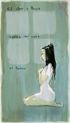Poesia Visual 1: Lluvia - Rain by Razhiel-Nan
