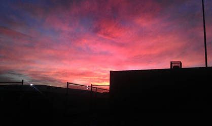 A Glendoran Sunset by Dumbrarere