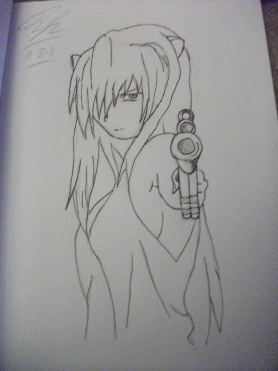 elfen lied lucy gun - photo #15
