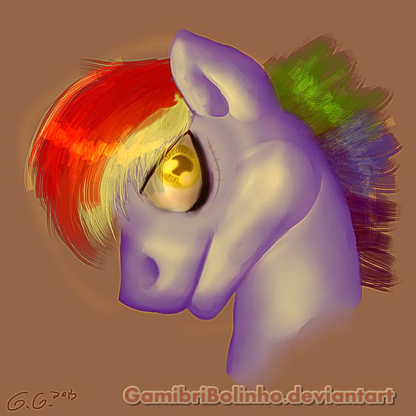 Badass rainbow Dash Father by Gamibrii