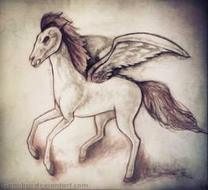 Dark Horse by Gamibrii