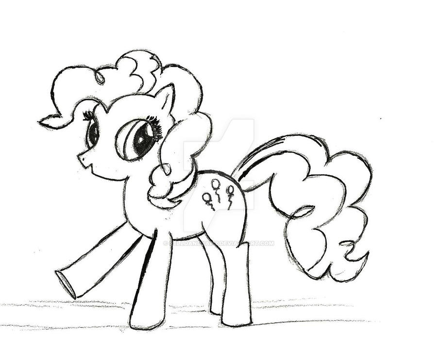 Pin pinkie pie coloring sh on pinterest for Pinkie pie coloring page