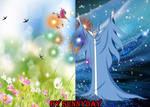 Spring Vs Winter by sunnyday2000