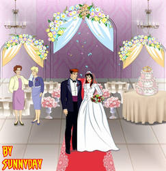 Commission Peter And Mary Jane Wedding by sunnyday2000