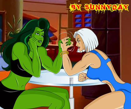 Commission She Hulk Vs Allure