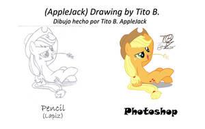 AppleJack Photoshop FanArt by sasukedll7170