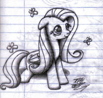 Fluttershy FanArt Sasukedll7170 by sasukedll7170