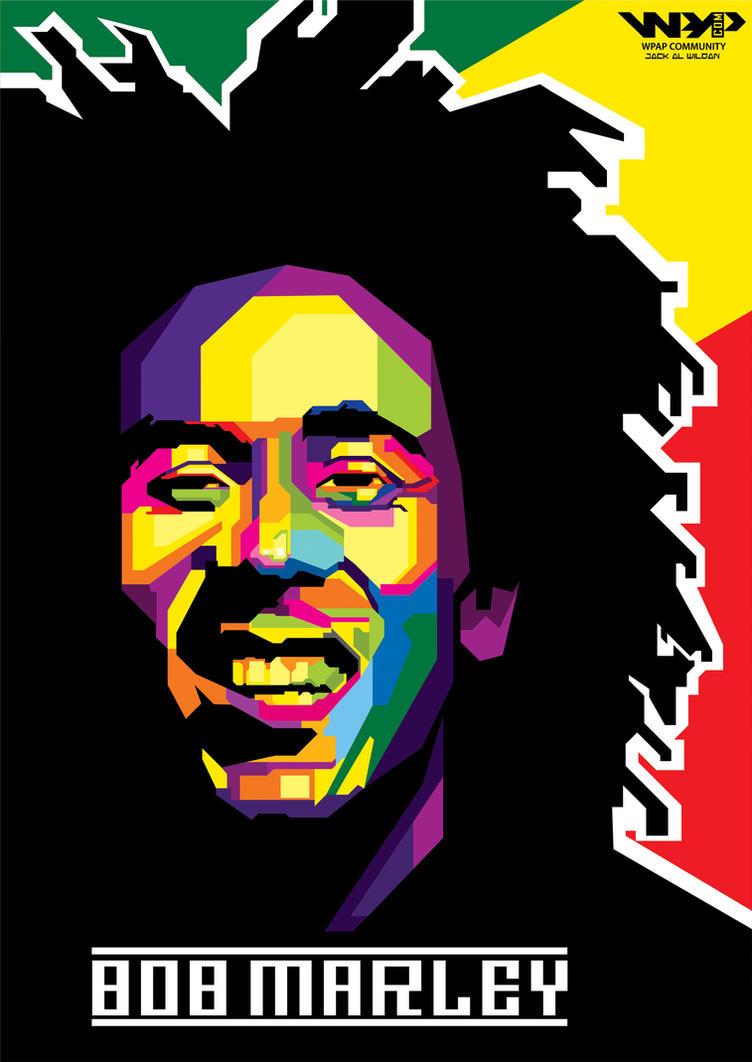 Bob Marley By Jackwildan