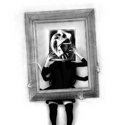 GIRLINTHEBOX - distraction by MephistoNoSabaku