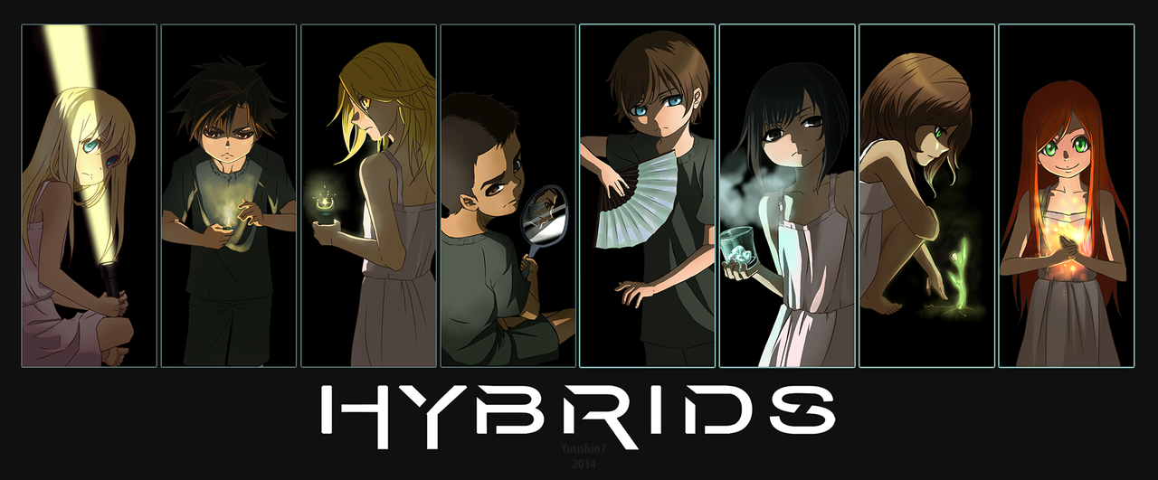 HYBRIDS - commission by Yuushin7