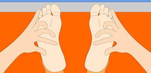 Tickling Girl's Feet
