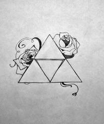Triforce. by EyelessDonovan