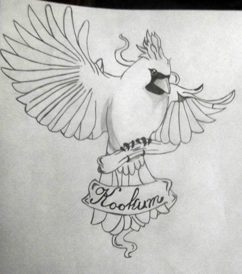 kookum tattoo sketch by eyelessdonovan on deviantart