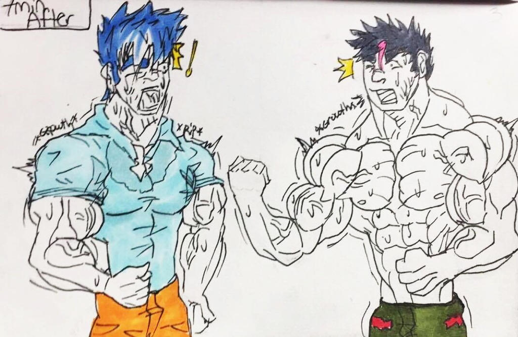 Muscle Growth Page 3 By Vetrunks On DeviantArt