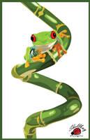 Feeling Froggy by Shellbug