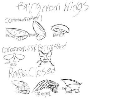 Fairy sugarnom Wing guide by ViaraAmethyst