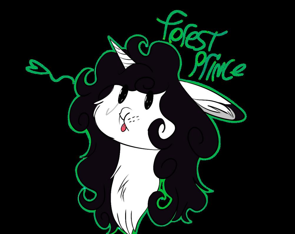 Unicorn badge - mr no name (gift) by ViaraAmethyst