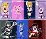 Sailor Senshi Chibi Collection