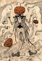 Jack-o'-lantern by saphir93