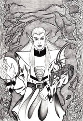 Eldrad - fantasy commission by saphir93