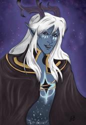 Aaravos - The Dragon Prince by saphir93