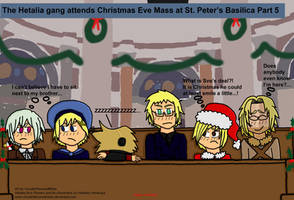 Hetalia Christmas Quickie 5 by VicodinFlavoredMints