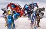 optimus and grimlock G1 and 2014