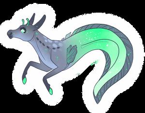 Space Eel - Hippocampus/Equine - Closed