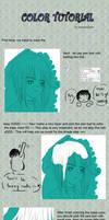 Hair color tut ___ SAI
