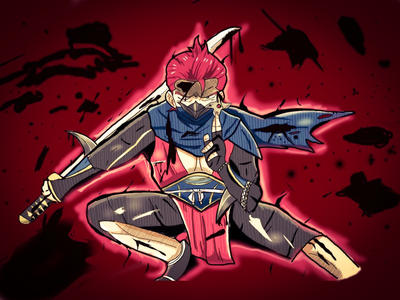 The Deadly Ninja Saizou by ian9000