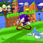 Sonic and His New Friends