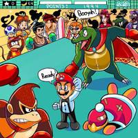 D.K vs King K.Rool  by ian9000
