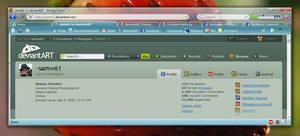 Smoothly Glass - Firefox4Vista