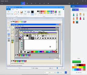 MS Paint Versions