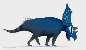 Cobalt Chasmosaur