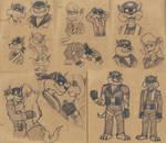 SWAT Kats Sketches