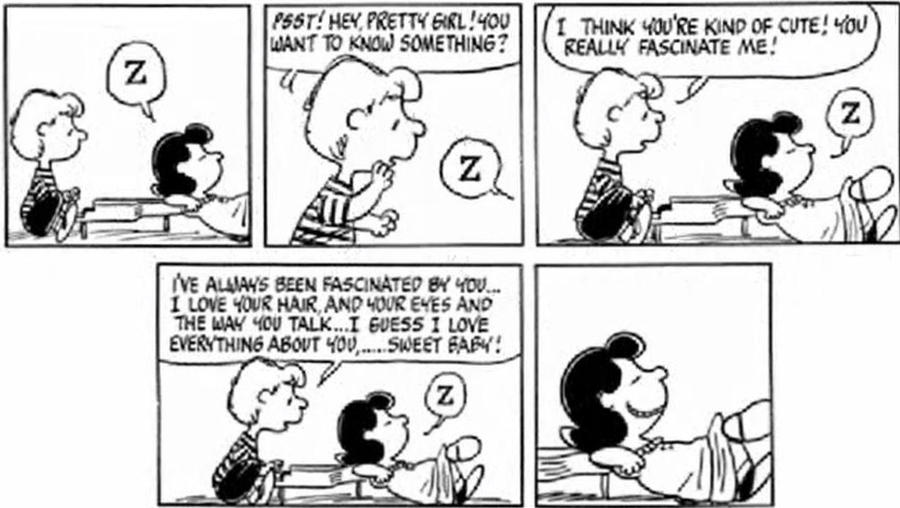 Sally Linus Schroeder Lucy On Peanuts-Love