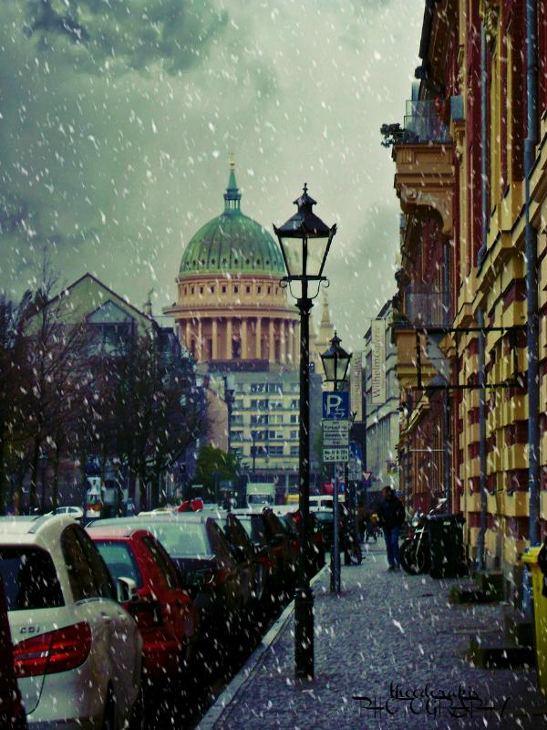 Gray snow by Theodorakis