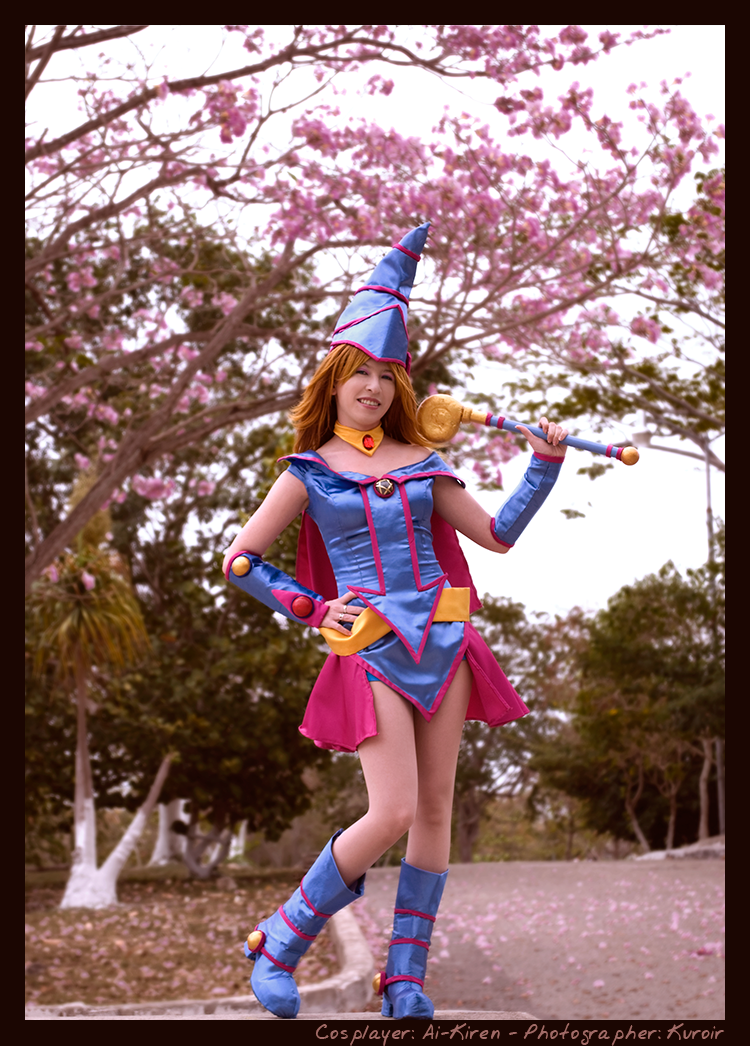 Dark Magician Girl: Pink Tree by kuroir