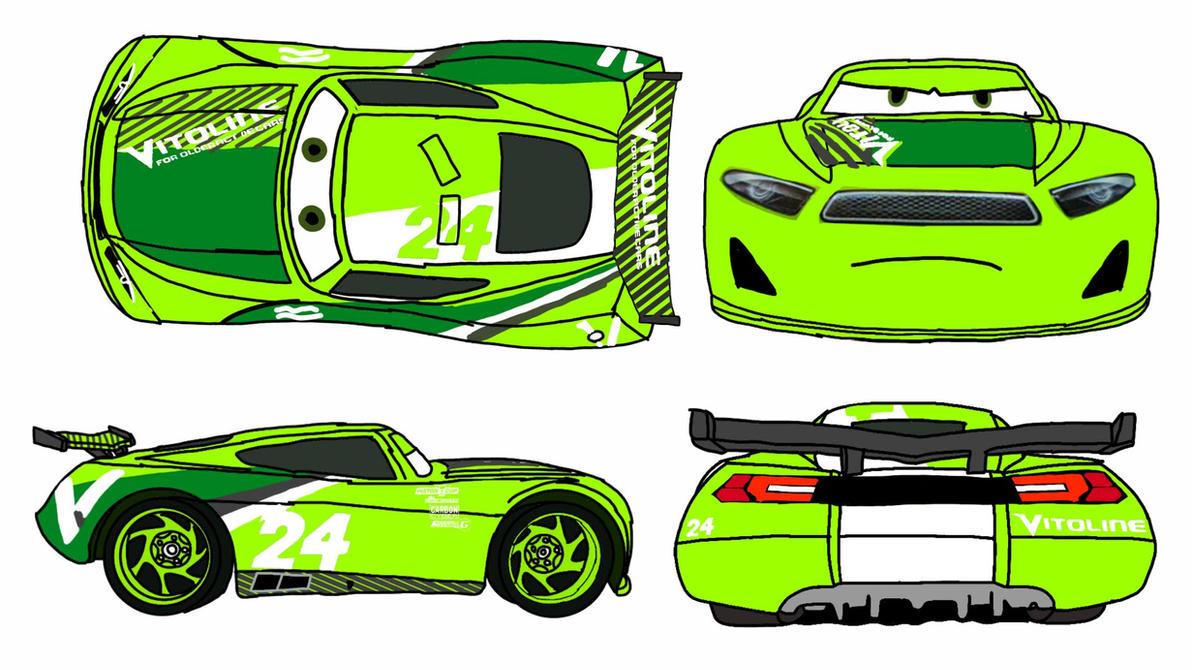 CHASE RACEOLTT by carsfan16