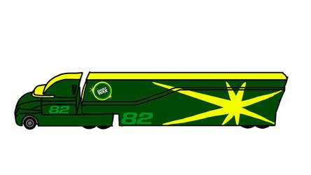 Conrad Camber's hauler and cab by carsfan16